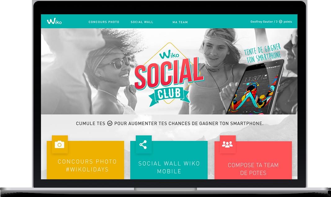 Application Social Media pour Wiko Mobile